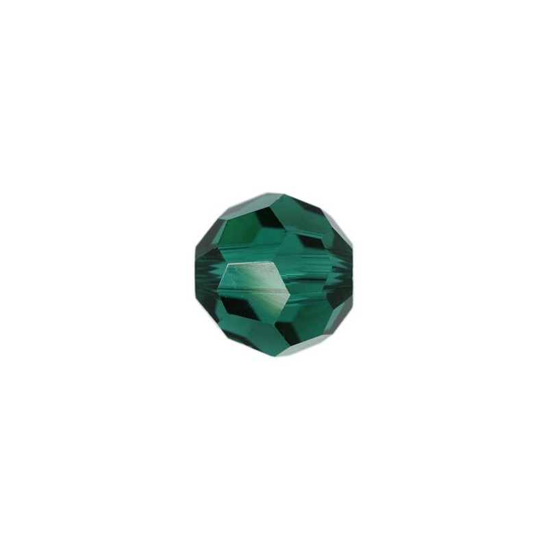 10MM Emerald (205) 5000 Round Bead SWAROVSKI ELEMENTS