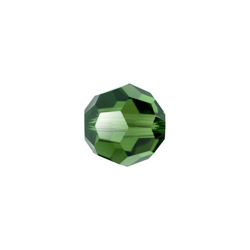 10MM Dark Moss Green (260) 5000 Round Bead SWAROVSKI ELEMENTS