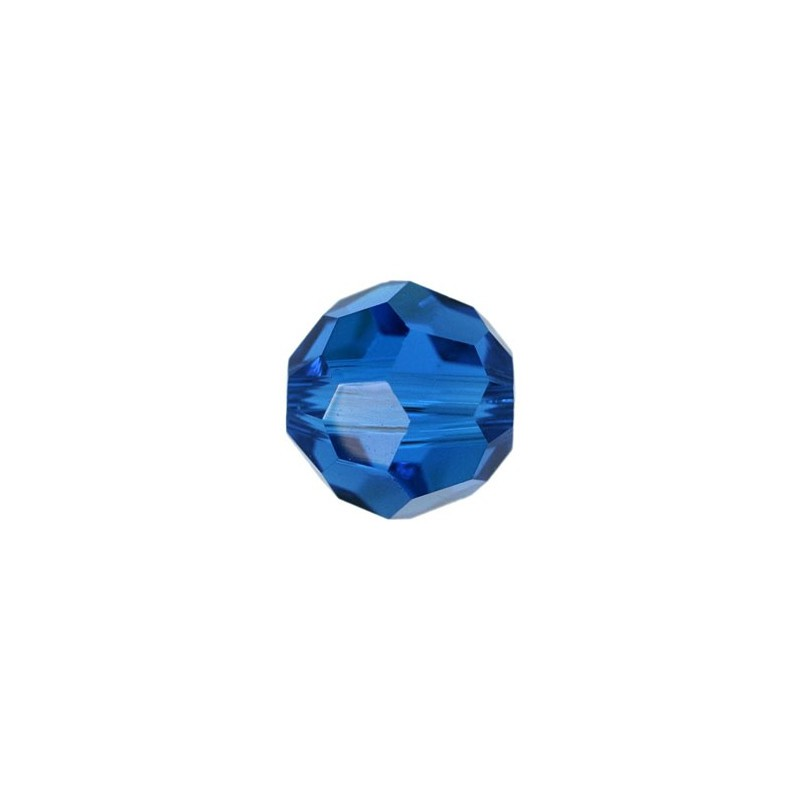 10MM Capri Blue (243) 5000 Round Bead SWAROVSKI ELEMENTS