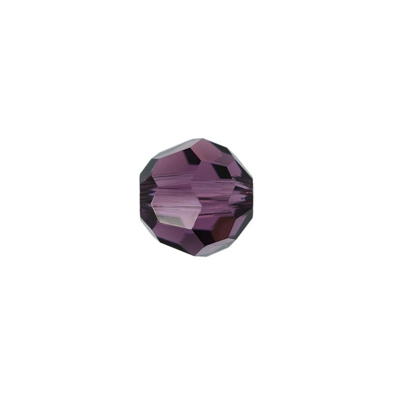 10MM Amethyst (204) 5000 Round Bead SWAROVSKI ELEMENTS