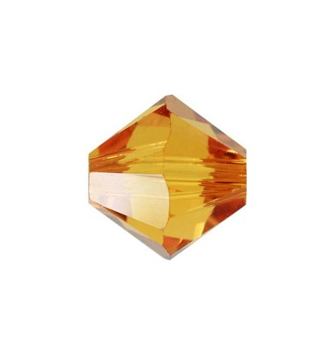 6MM Topaz (203) 5328 XILION Bi-Cone Бусины SWAROVSKI ELEMENTS