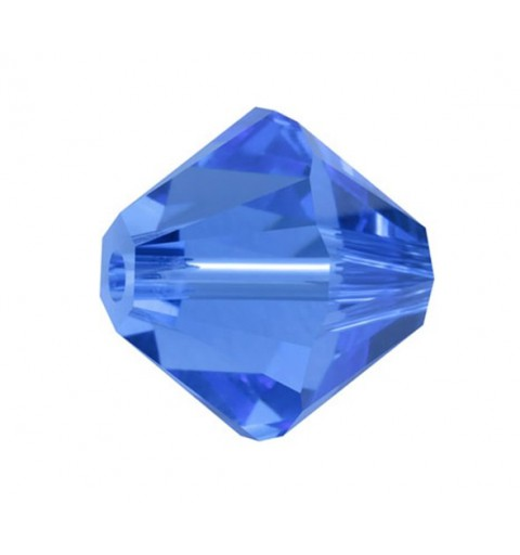 3MM Sapphire (206) 5328 XILION Bi-Cone SWAROVSKI ELEMENTS
