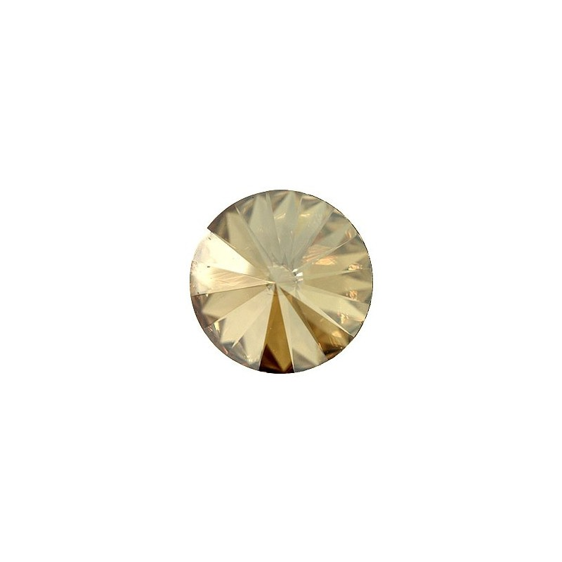 12MM CRYSTAL Golden Shadow F (001 GSHA) 1122 Rivoli Chaton SWAROVSKI ELEMENTS