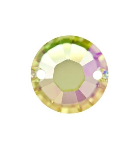 12MM Crystal Luminous Green F (001 LUMG) 3204 XILION SWAROVSKI ELEMENTS