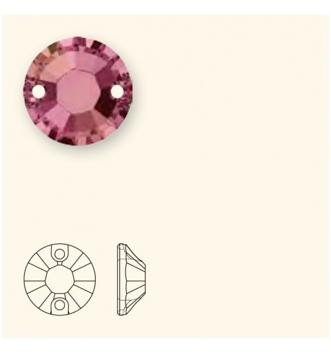 12MM Crystal Lilac Shadow F (001 LISH) 3204 XILION SWAROVSKI ELEMENTS