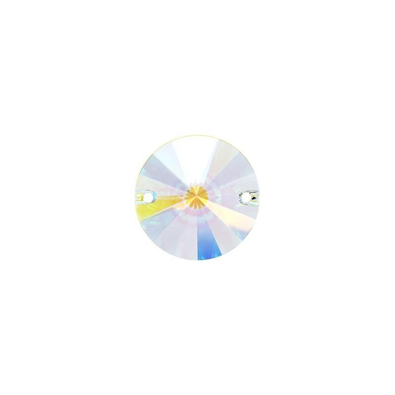 12MM Crystal AB F (001 AB) 3200 Rivoli SWAROVSKI ELEMENTS