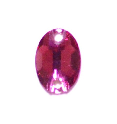 10x7MM Fuchsia F (502) 3210 Oval SWAROVSKI ELEMENTS