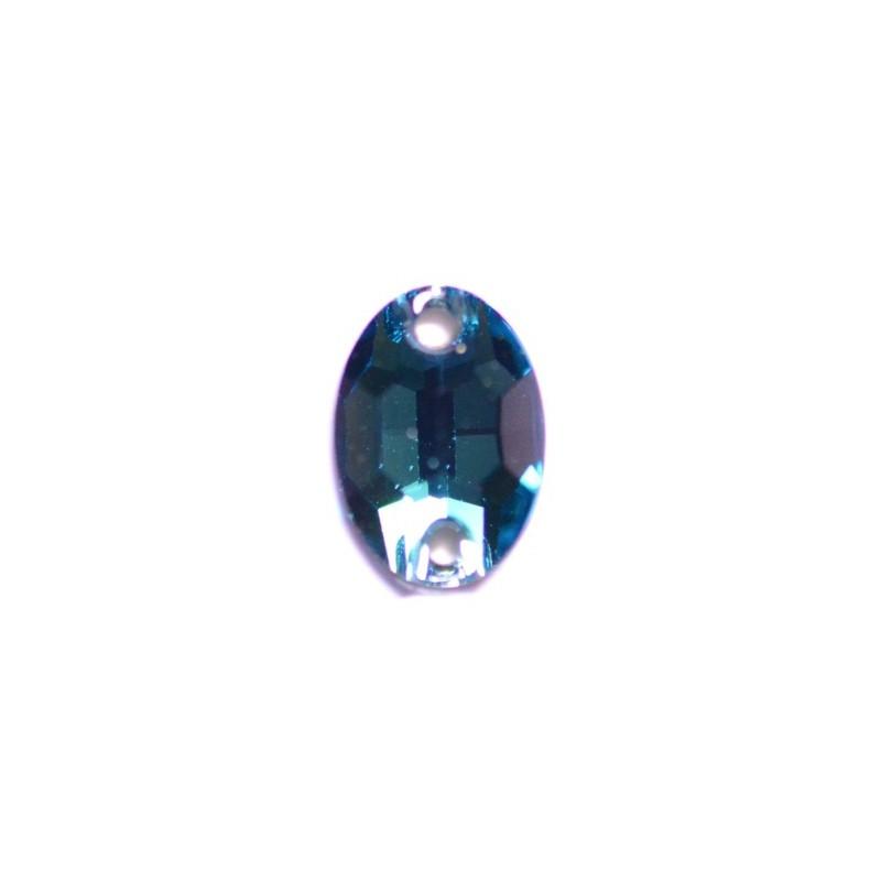 10x7MM Blue Zircon F (229) 3210 Oval SWAROVSKI ELEMENTS