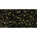TC-01-83 Metallic Iris Brown 1.5mm TOHO cube beads