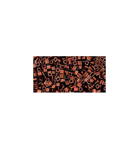TC-01-222 Bronze Dark Bronze 1.5mm TOHO cube beads
