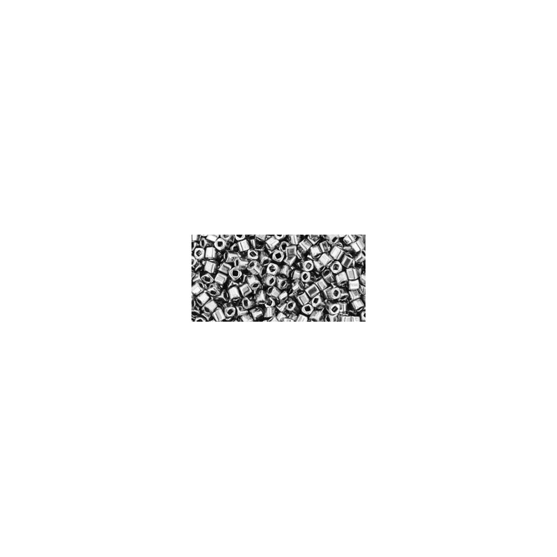 TC-01-711 Nickel 1.5mm TOHO cube beads