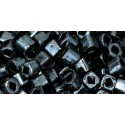 TC-03-81 Metallic Hematite 3mm TOHO cube beads
