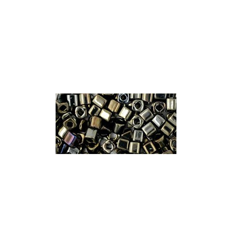 TC-03-83 Metallic Iris Brown 3mm TOHO cube beads