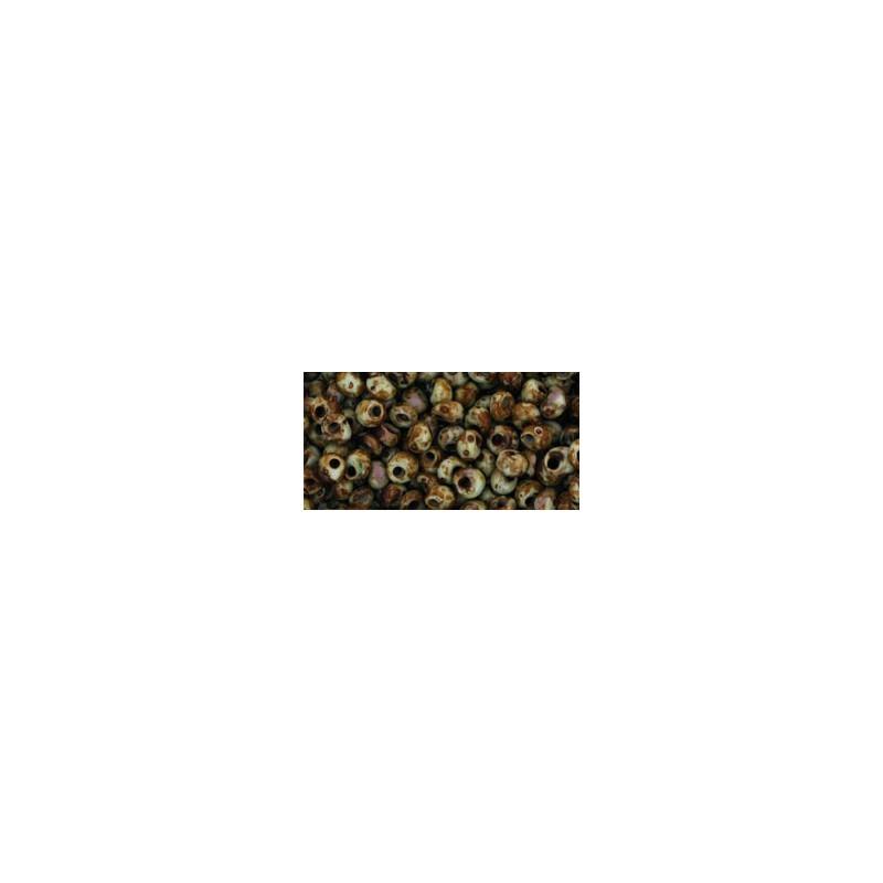 TM-03-Y312 HYBRID Opaque Gray - Picasso 3MM TOHO beads