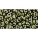 TM-03-457 Gold-Lustered Green Tea 3MM TOHO beads