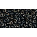 TM-03-Y503 HYBRID Antiqued Metallic Black 3MM TOHO beads