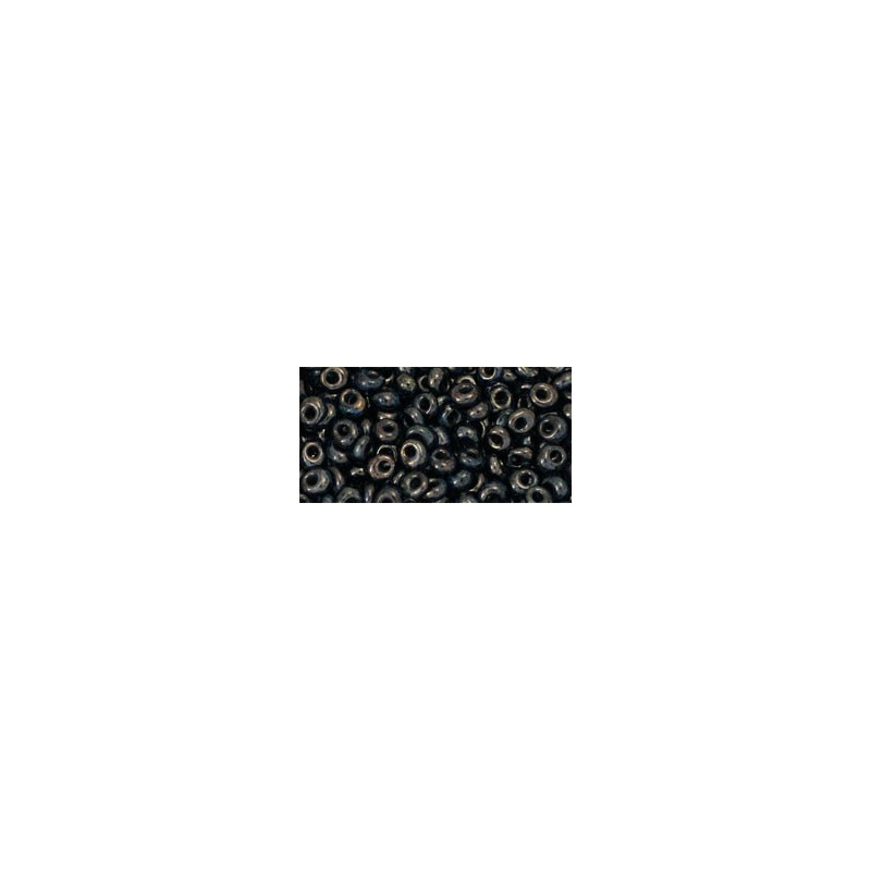 TM-03-Y503 HYBRID Antiqued Metallic Black 3MM TOHO beads