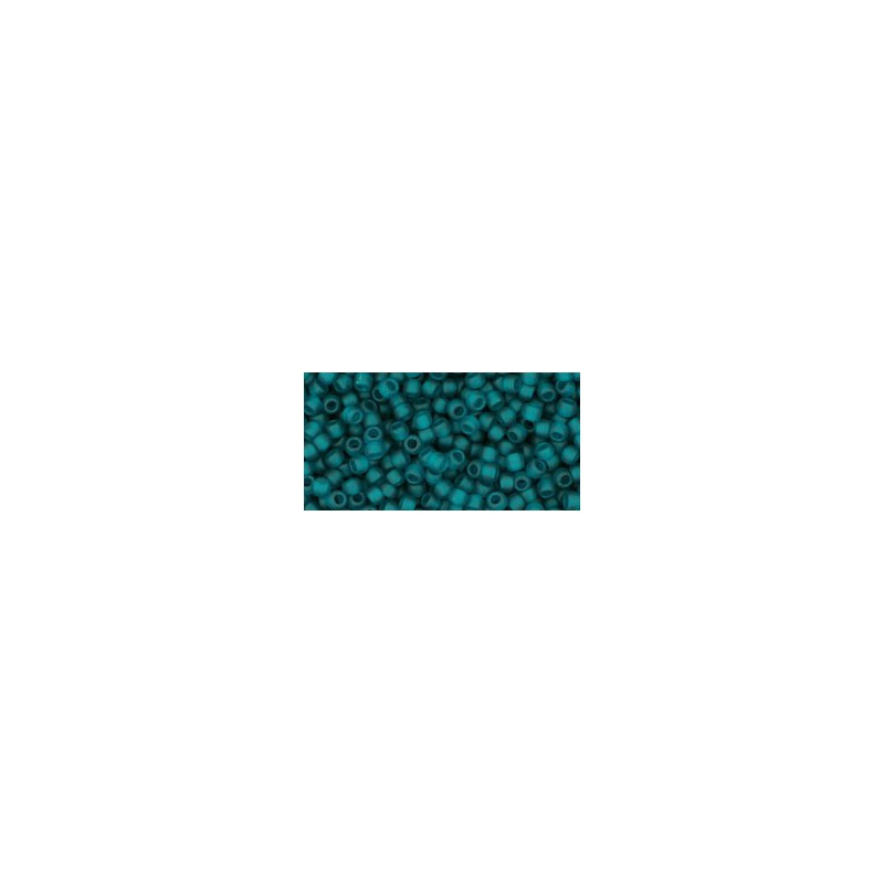 TR-11-7BDF Transparent-Frosted Teal