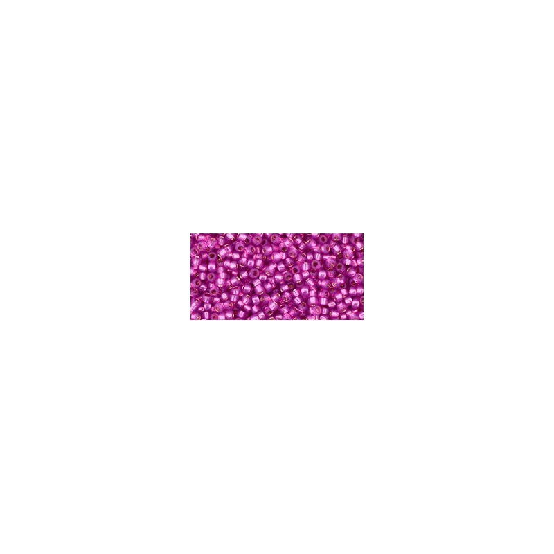TR-15-2107 Silver-Lined Milky Hot Pink