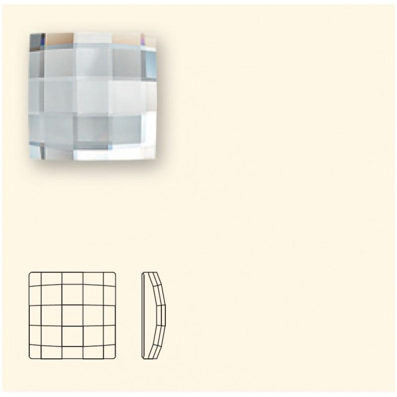 8MM Crystal Golden Shadow F (001 GSHA) 2493 Chessboard SWAROVSKI ELEMENTS