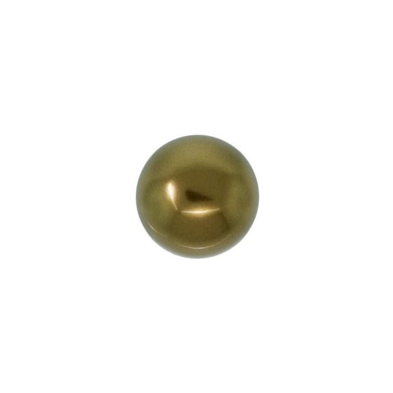 3MM Crystal Antique Brass Pearl (001 402) 5810 SWAROVSKI ELEMENTS