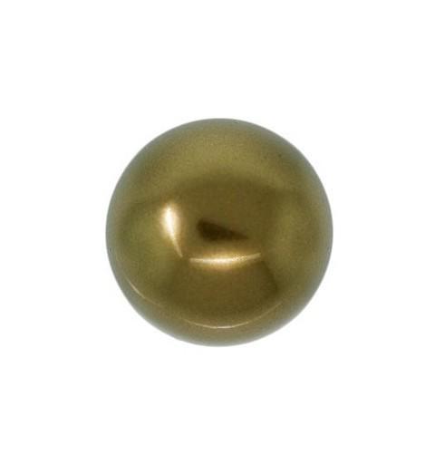 6MM Crystal Antique Brass Ümmargune Pärl (001 402) 5810 SWAROVSKI ELEMENTS