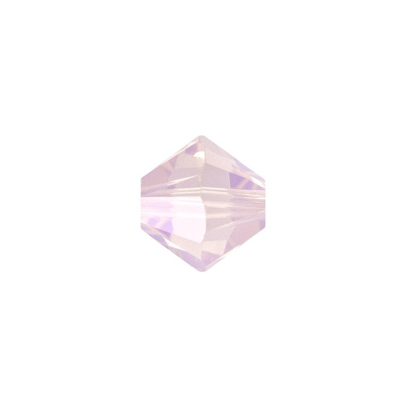 3MM Rose Water Opal (395) 5328 XILION Bi-Cone Helmed SWAROVSKI ELEMENTS
