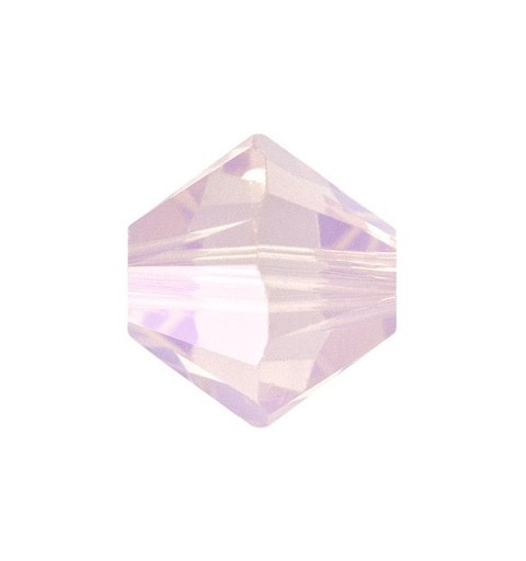 3MM Rose Water Opal (395) 5328 XILION Bi-Cone Beads SWAROVSKI ELEMENTS