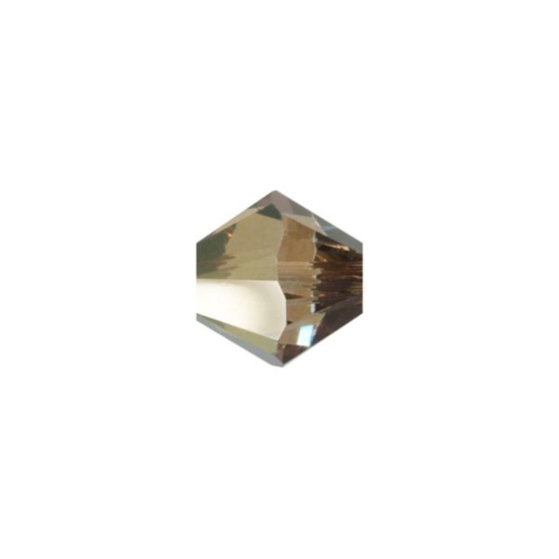 3MM Crystal Bronze Shade (001 BRSH) 5328 XILION Bi-Cone Бусины SWAROVSKI ELEMENTS