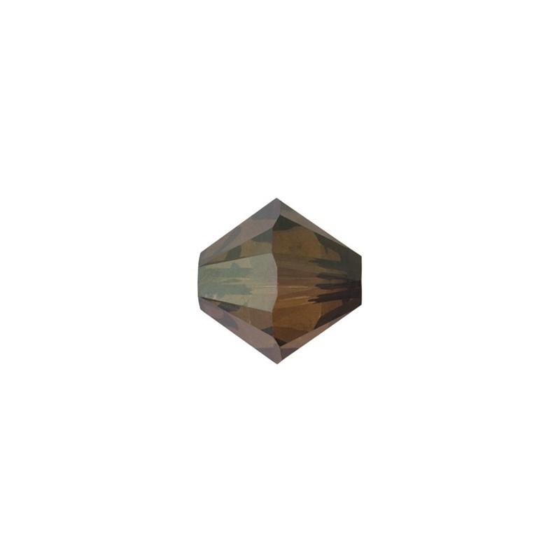 3MM Crystal Bronze Shade 2x (001 BRSH2) 5328 XILION Bi-Cone Helmed SWAROVSKI ELEMENTS
