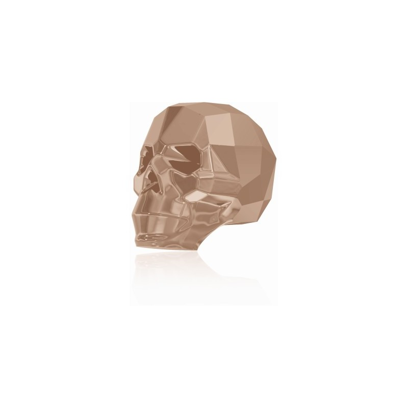 13MM Crystal Rose Gold 2x 5750 Skull Helmed SWAROVSKI ELEMENTS