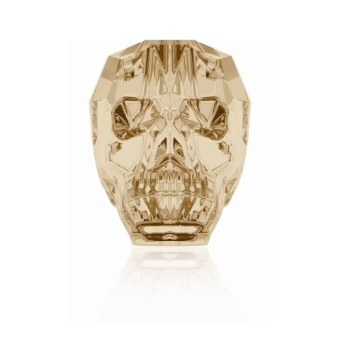 13MM Crystal Golden Shadow 5750 Skull Beads SWAROVSKI ELEMENTS