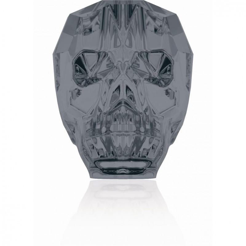 13MM Crystal Silver Night 5750 череп Бусины SWAROVSKI ELEMENTS