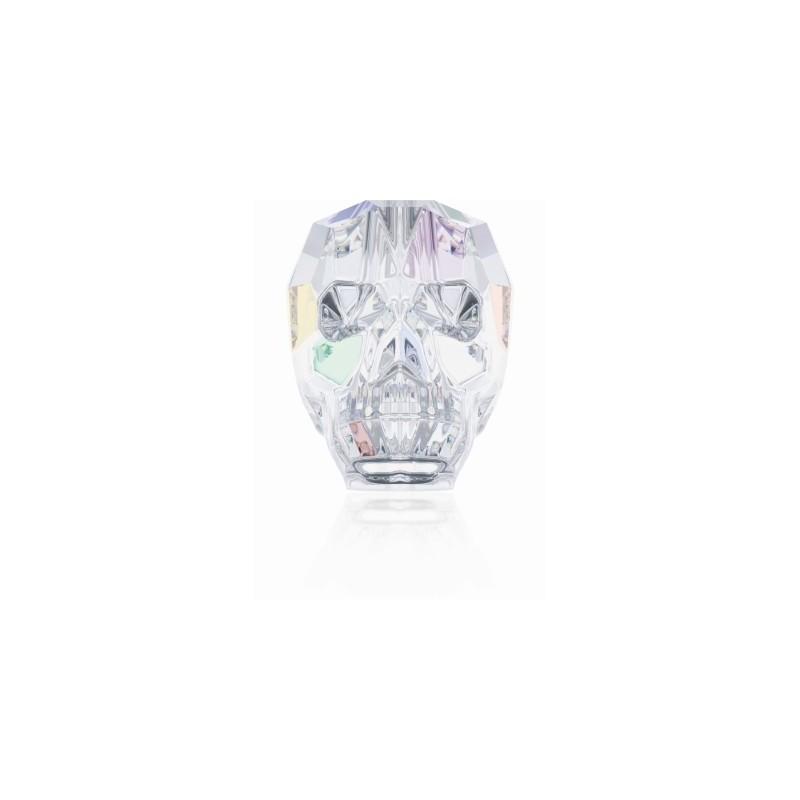 13MM Crystal AB (001 AB) 5750 череп Бусины SWAROVSKI ELEMENTS