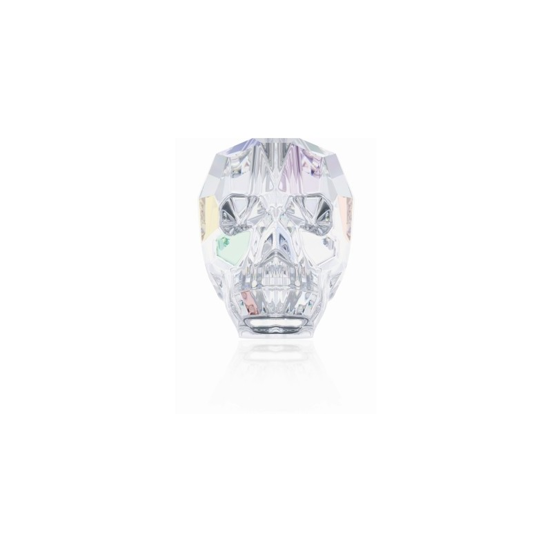 13MM Crystal AB (001 AB) 5750 Skull Beads SWAROVSKI ELEMENTS