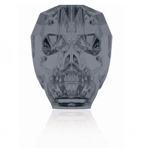 19MM Crystal Silver Night 5750 Skull Beads SWAROVSKI ELEMENTS