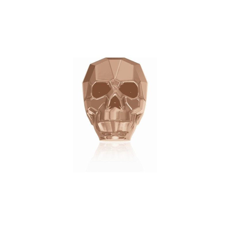 13MM Crystal Rose Gold 2x 5750 Skull Helmed SWAROVSKI ELEMENTS