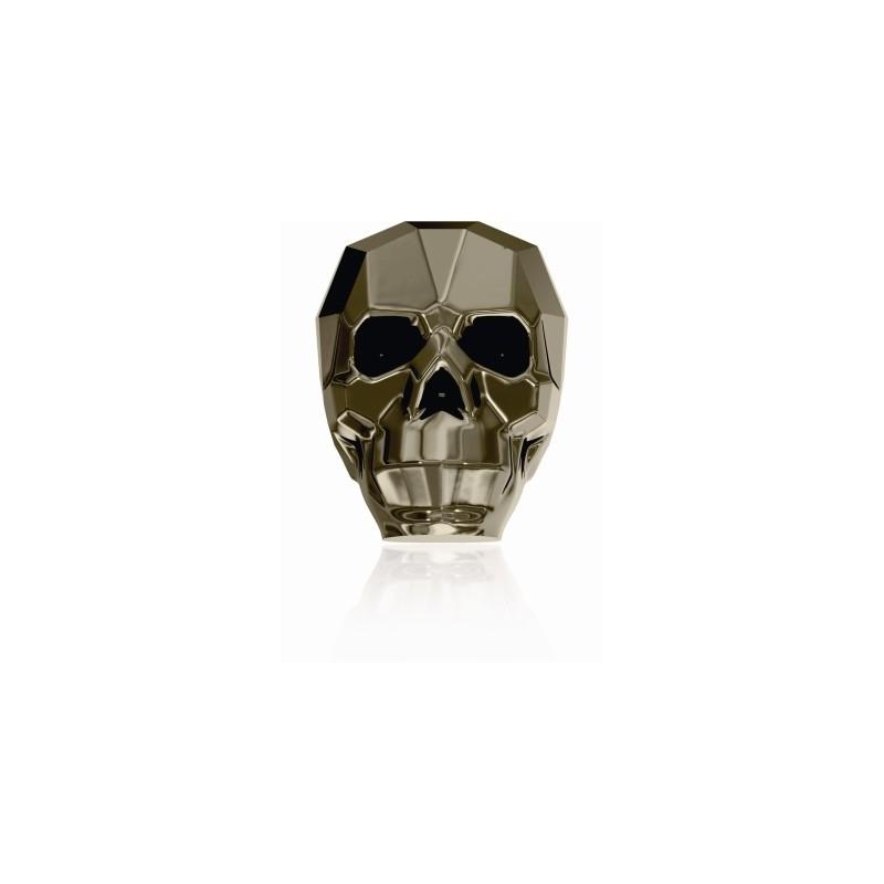 13MM Crystal Metallic Light Gold 2x 5750 череп Бусины SWAROVSKI ELEMENTS