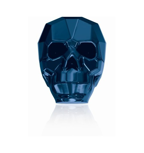 19MM Crystal Metallic Blue 2x 5750 Skull Beads SWAROVSKI ELEMENTS