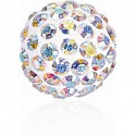 8MM Crystal AB (001 AB) Pavé Ball Beads SWAROVSKI ELEMENTS