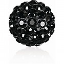 8MM Jet (280) Pavé Ball Beads SWAROVSKI ELEMENTS