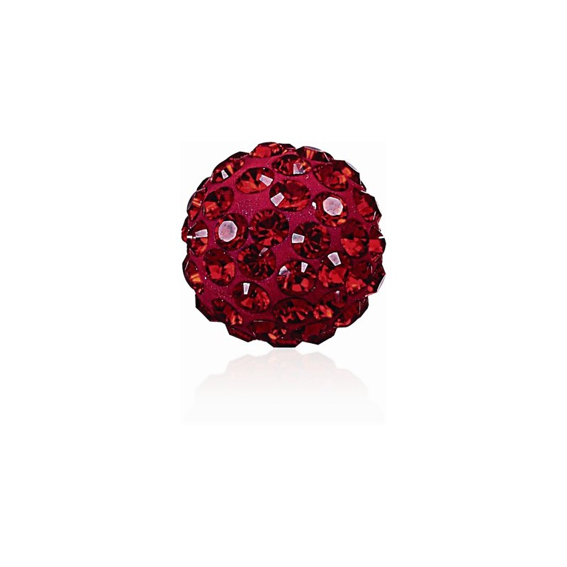 8MM Indian Siam (327) Pavé Ball Helmed SWAROVSKI ELEMENTS