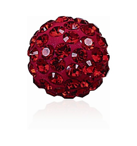 8MM Indian Siam (327) Pavé Ball Beads SWAROVSKI ELEMENTS