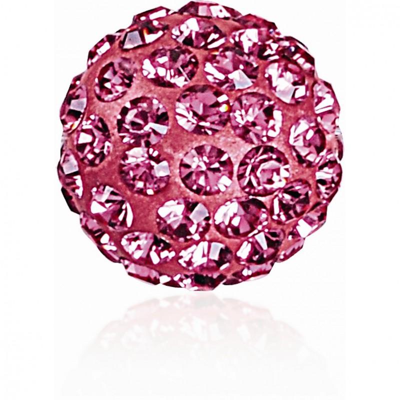 8MM Rose (209) Pavé Ball Бусины SWAROVSKI ELEMENTS