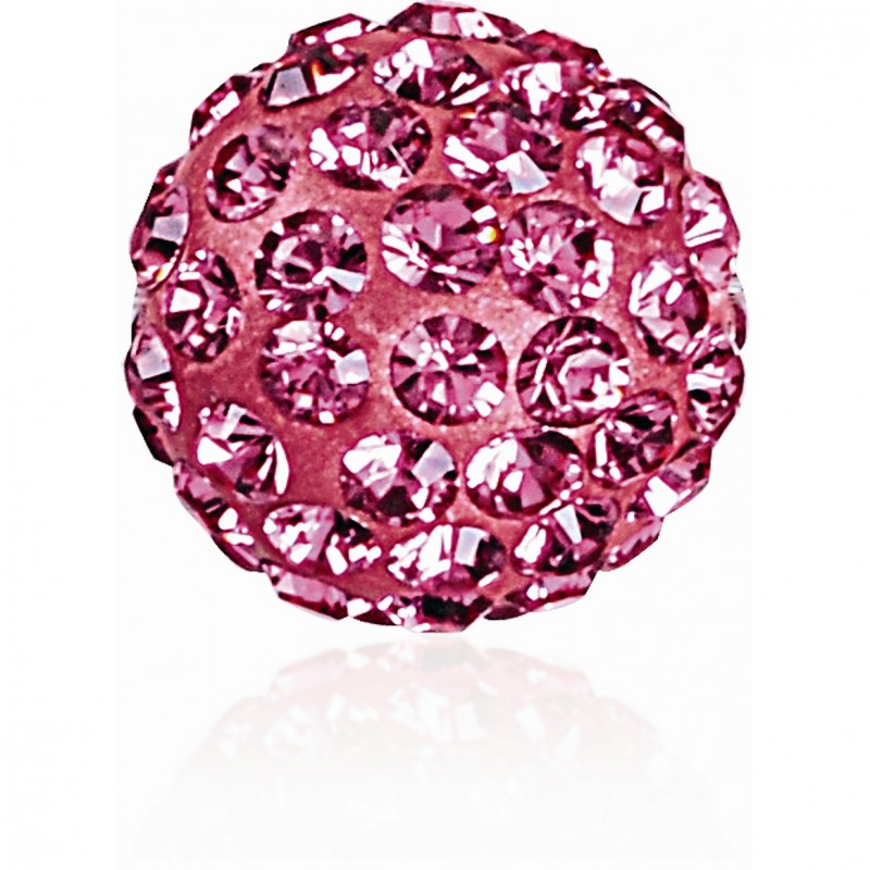 8MM Rose (209) Pavé Ball Helmed SWAROVSKI ELEMENTS