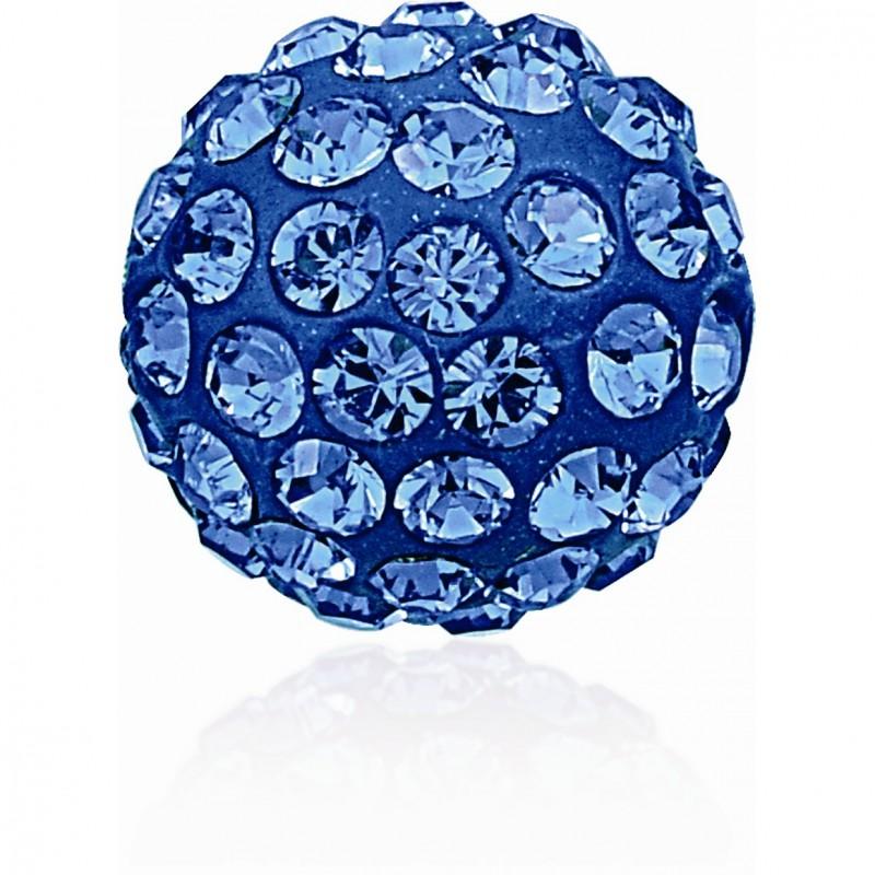 8MM Sapphire (206) Pavé Ball Бусины SWAROVSKI ELEMENTS