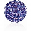 8MM Tanzanite (539) Pavé Ball Beads SWAROVSKI ELEMENTS