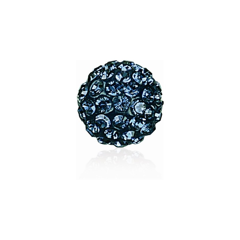 8MM Montana (207) Pavé Ball Beads SWAROVSKI ELEMENTS