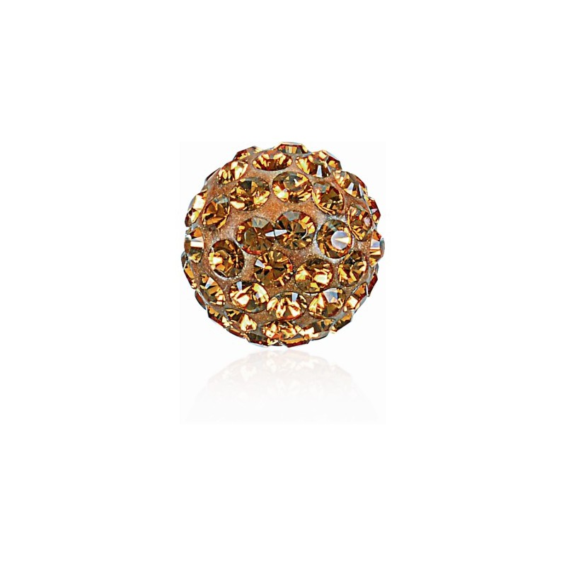 8MM Topaz (203) Pavé Ball Helmed SWAROVSKI ELEMENTS