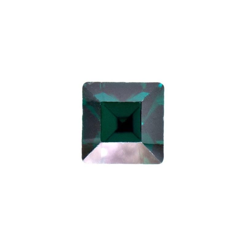 2mm Emerald F (205) Ruudukujuline 4428 Ehte Kristall Swarovski Elements